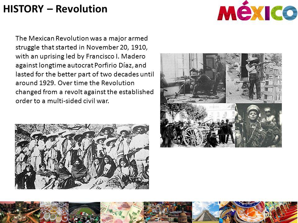 HISTORY – Revolution