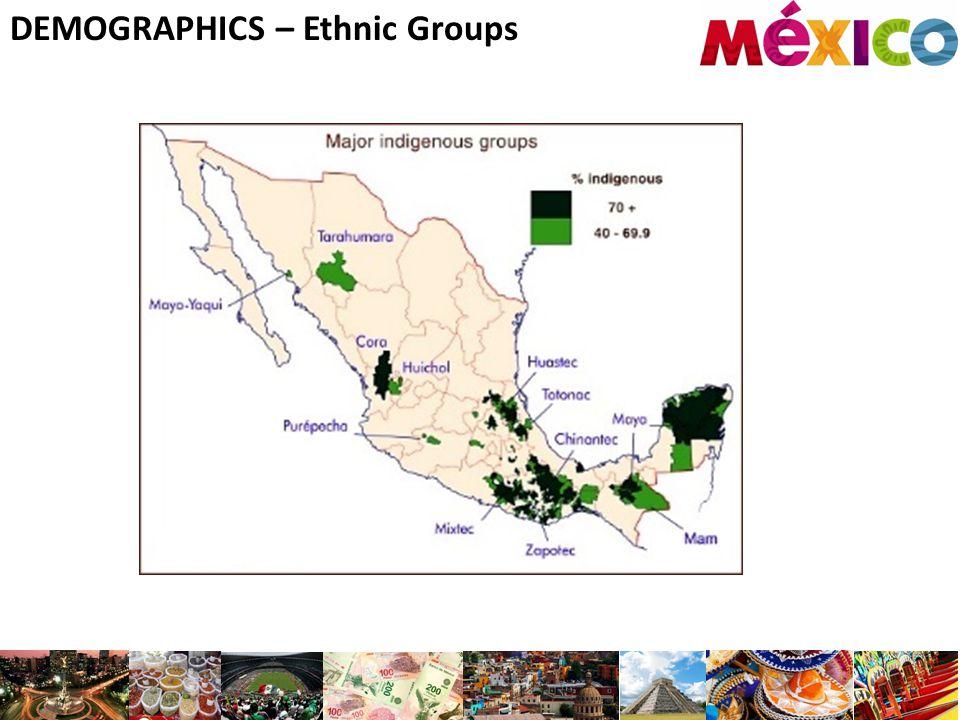 DEMOGRAPHICS – Ethnic Groups