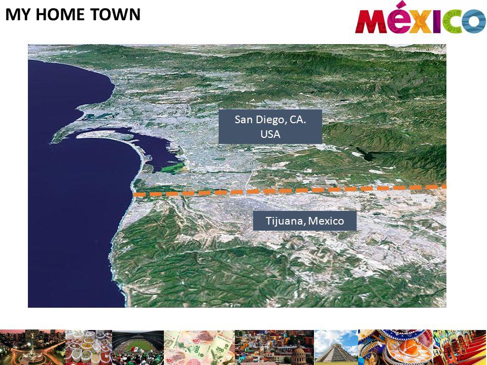 MY HOME TOWN San Diego, CA. USA Tijuana, Mexico