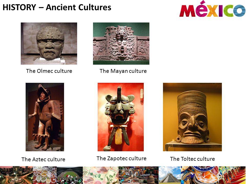 HISTORY – Ancient Cultures