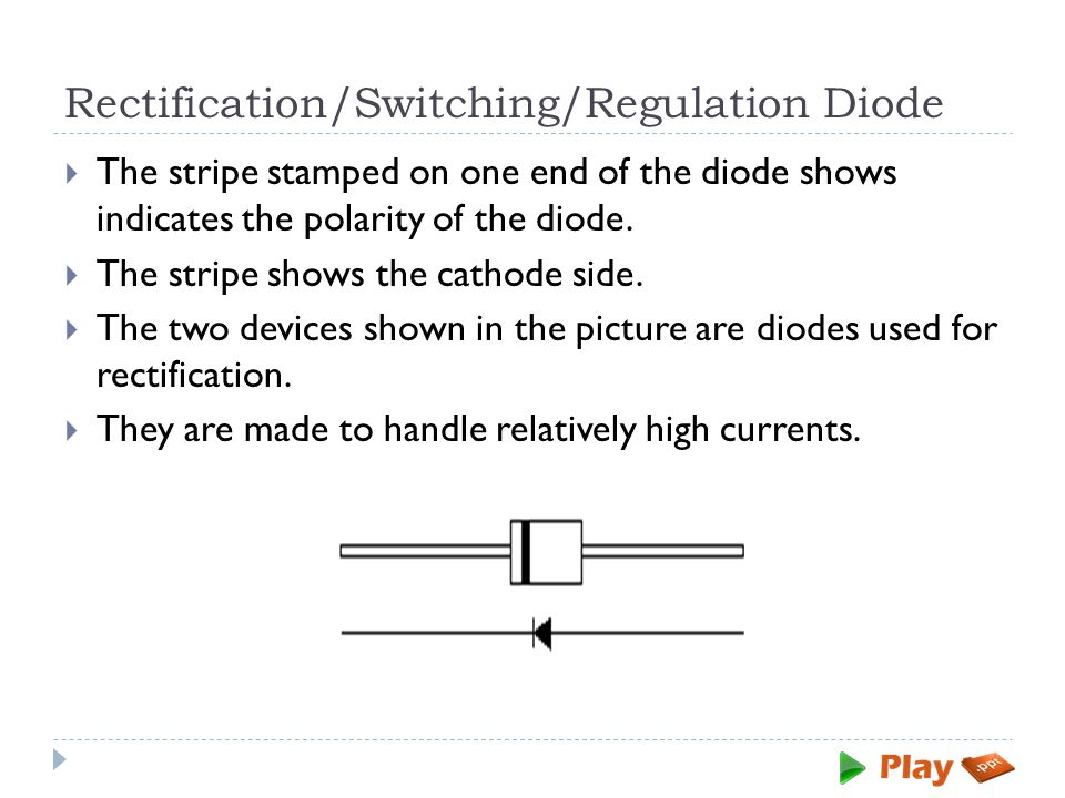 Rectification/Switching/Regulation Diode