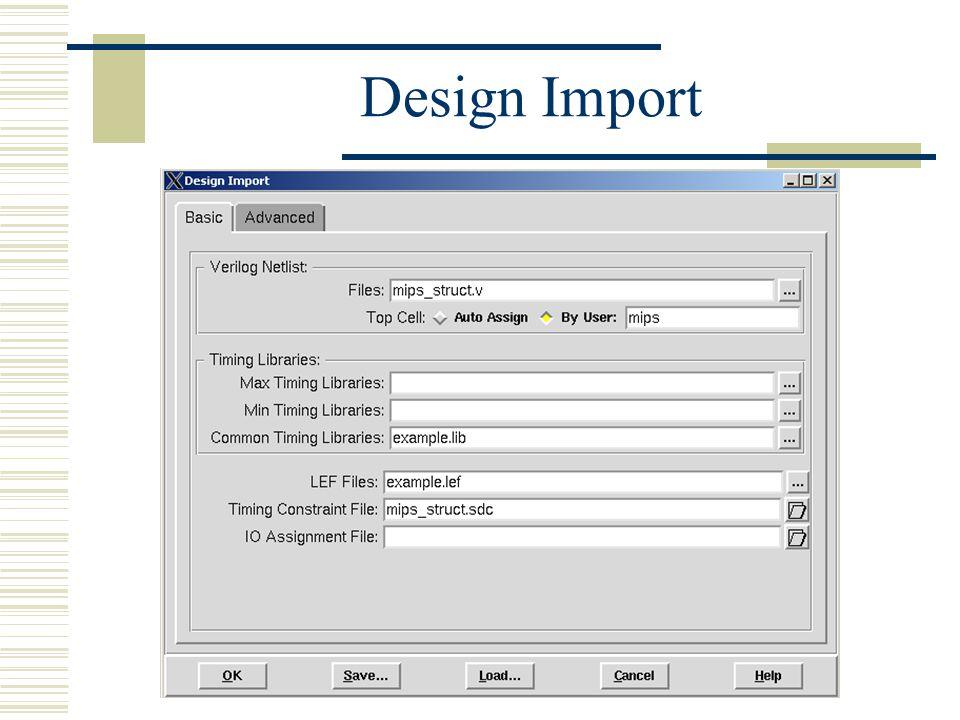 Design Import