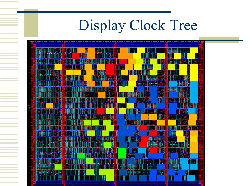 Display Clock Tree