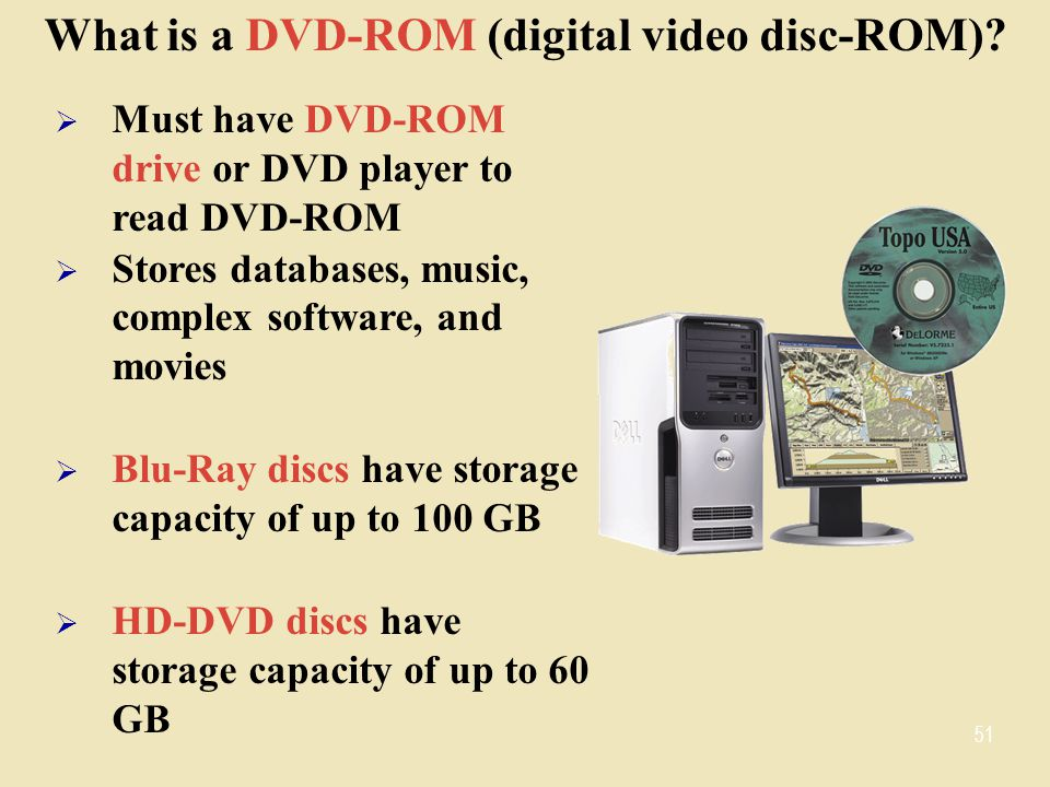 What is a DVD-ROM (digital video disc-ROM)