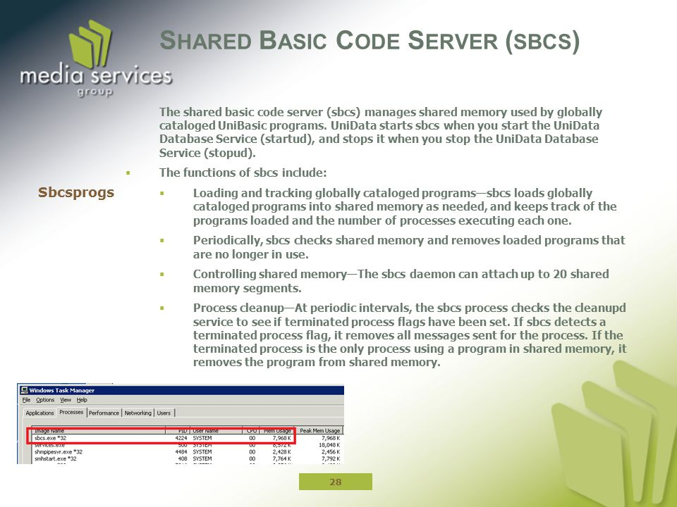 Shared Basic Code Server (sbcs)