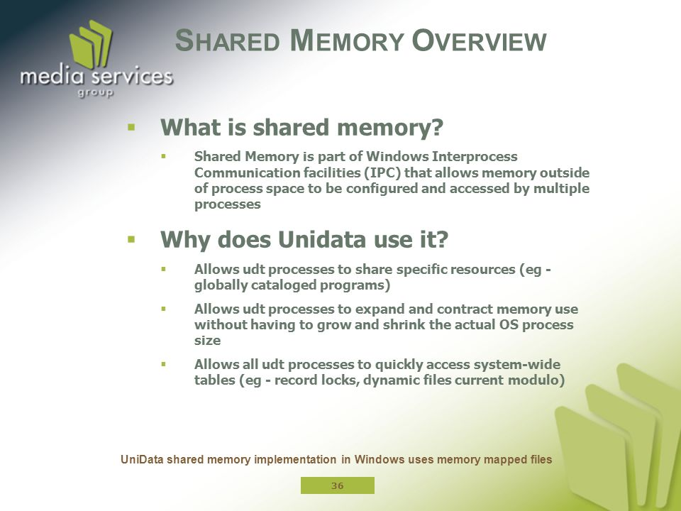 Shared Memory Overview