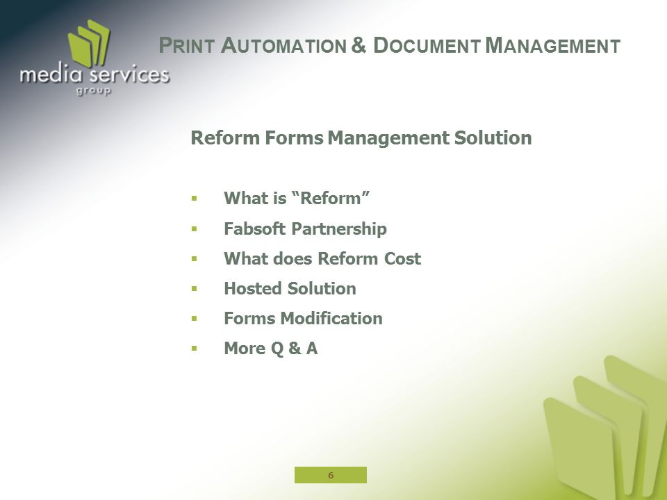 Print Automation & Document Management