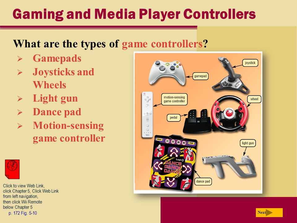 Gaming and Media Player Controllers