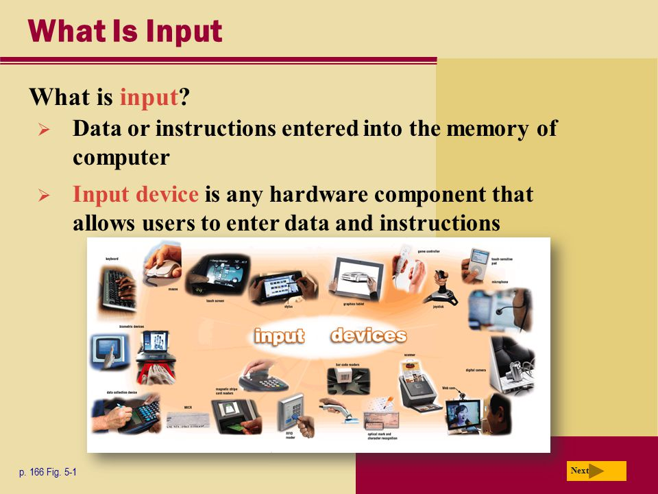 What Is Input What is input