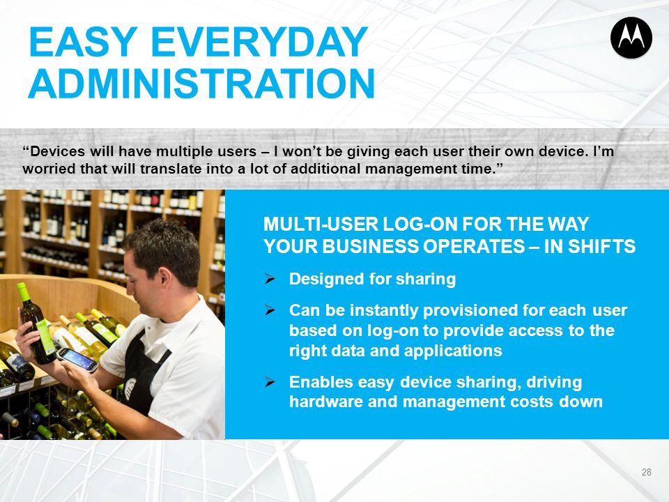 EASY EVERYDAY ADMINISTRATION