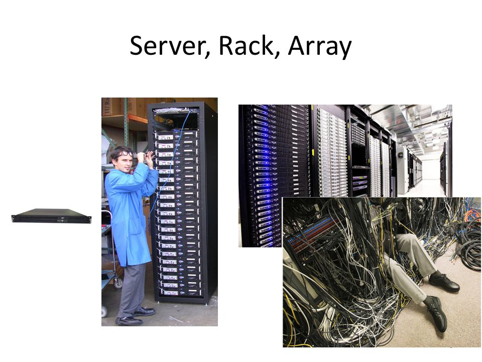 Server, Rack, Array
