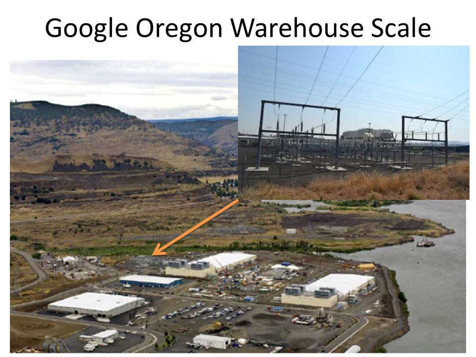 Google Oregon Warehouse Scale