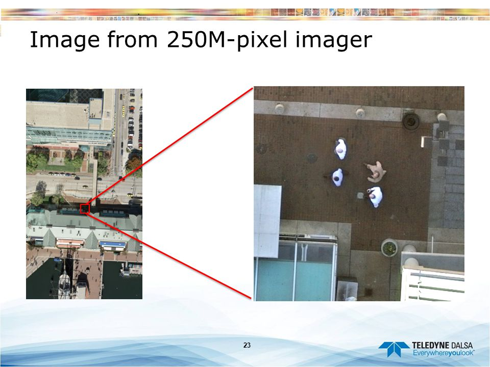 Image from 250M-pixel imager