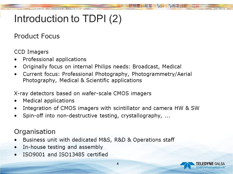 Introduction to TDPI (2)