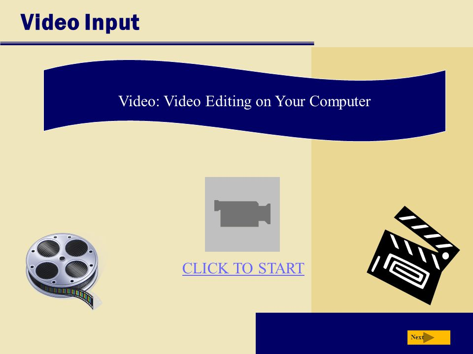 Video: Video Editing on Your Computer
