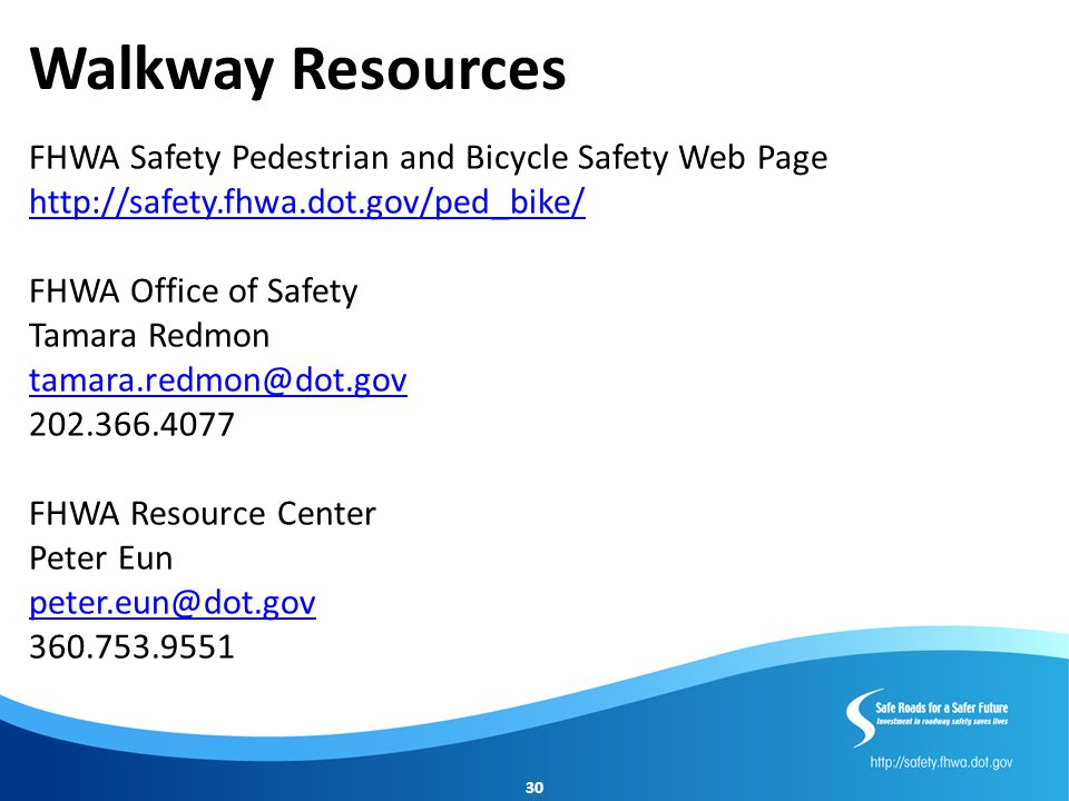 Walkway Resources