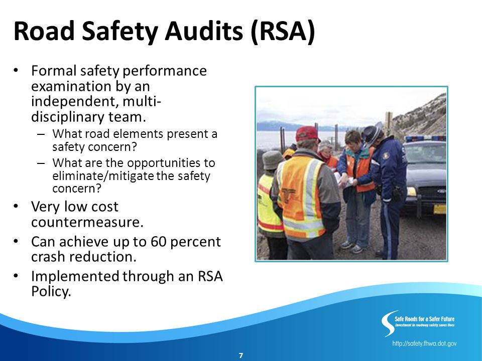 Road Safety Audits (RSA)