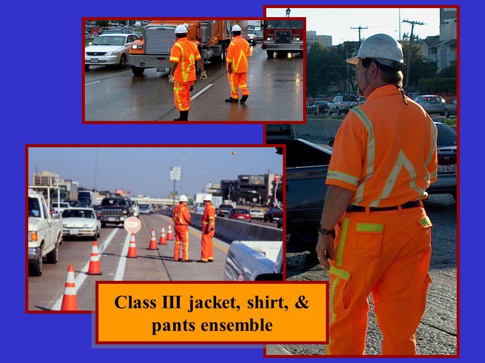 Class III jacket, shirt, & pants ensemble