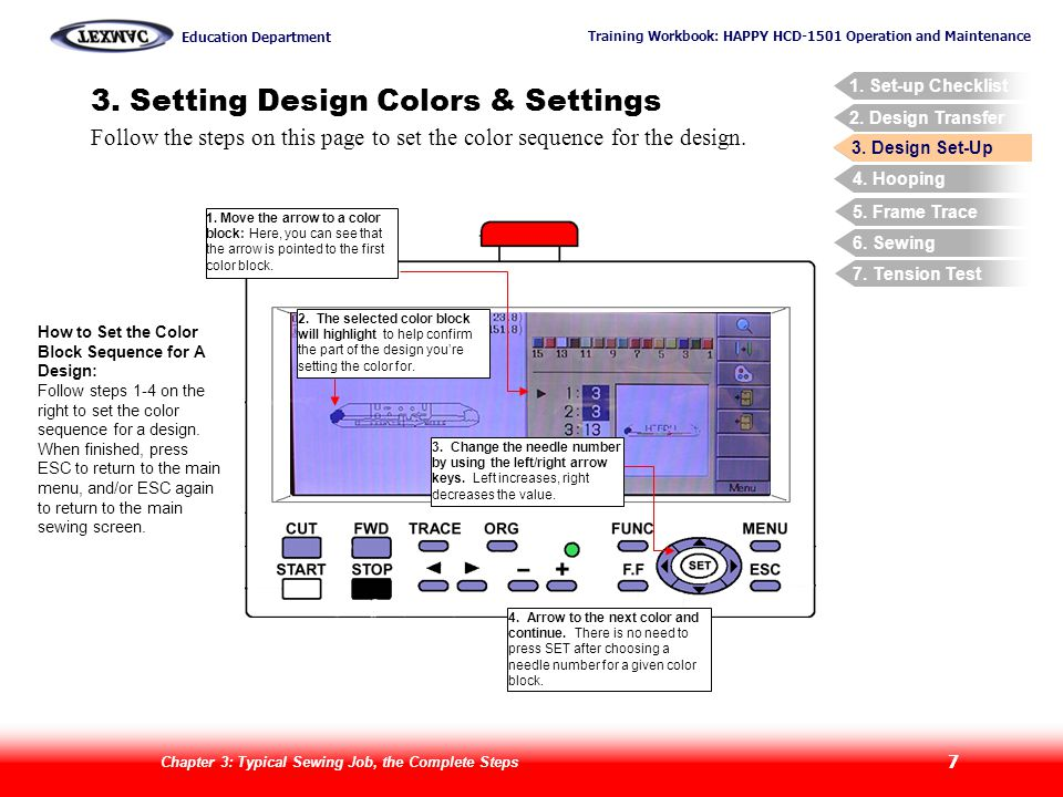 3. Setting Design Colors & Settings
