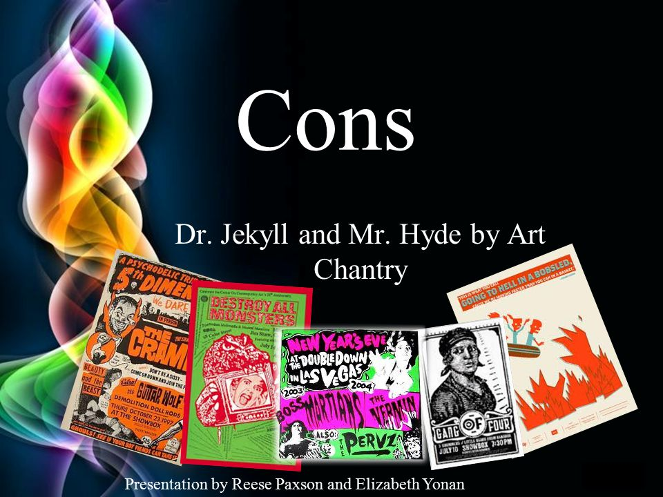 Dr. Jekyll and Mr. Hyde by Art Chantry
