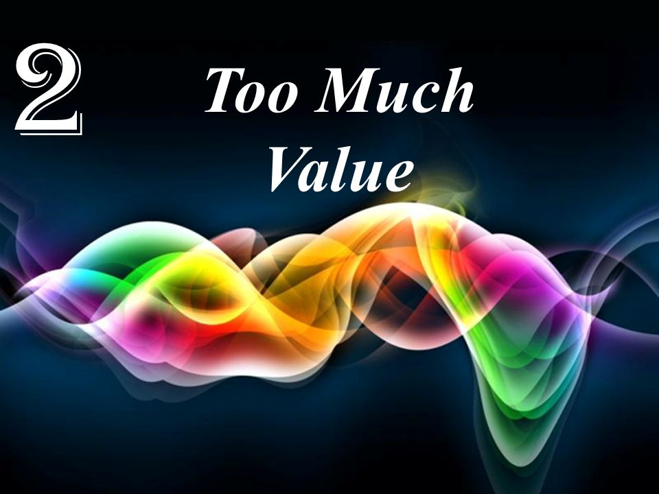 2 Too Much Value Free Powerpoint Templates