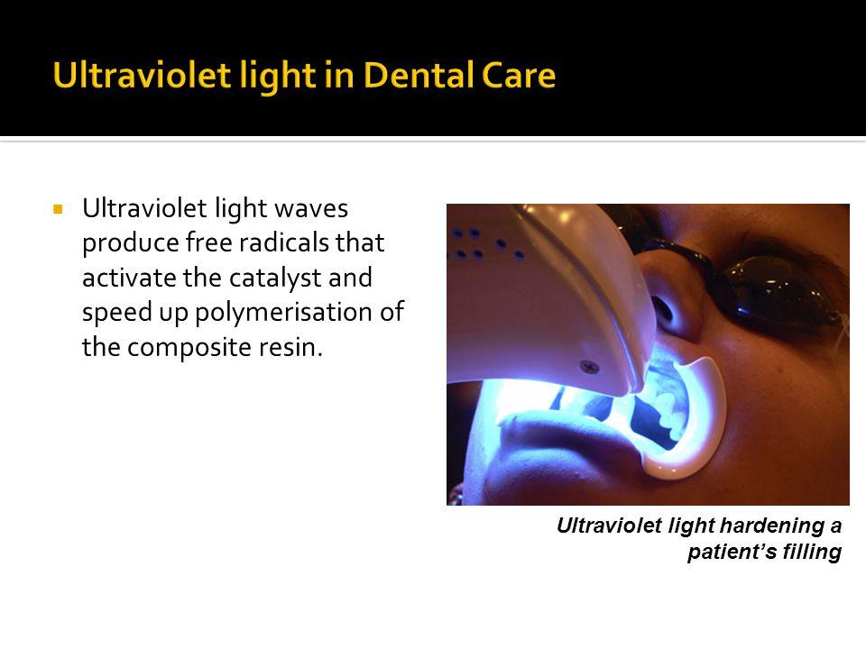 Ultraviolet light in Dental Care
