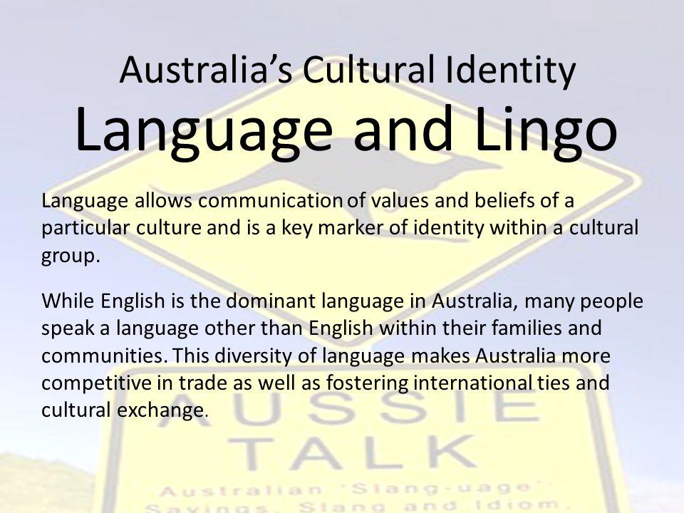 Australia's Cultural Identity