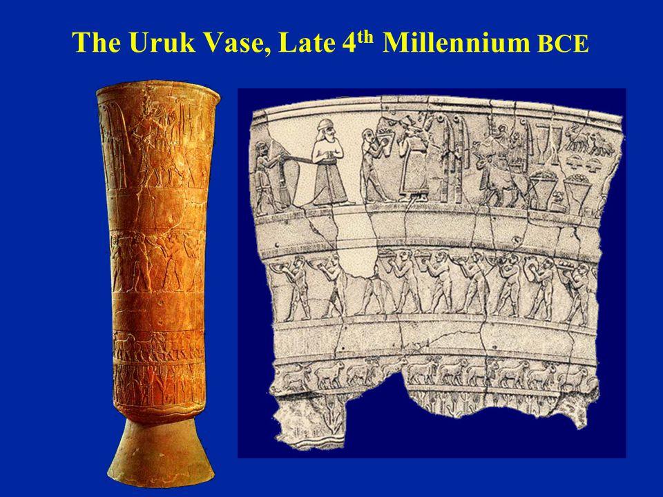 The Uruk Vase, Late 4th Millennium BCE