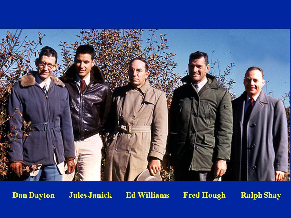 Dan Dayton Jules Janick Ed Williams Fred Hough Ralph Shay