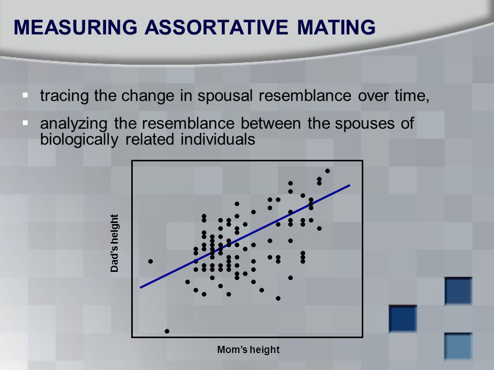 MEASURING ASSORTATIVE MATING