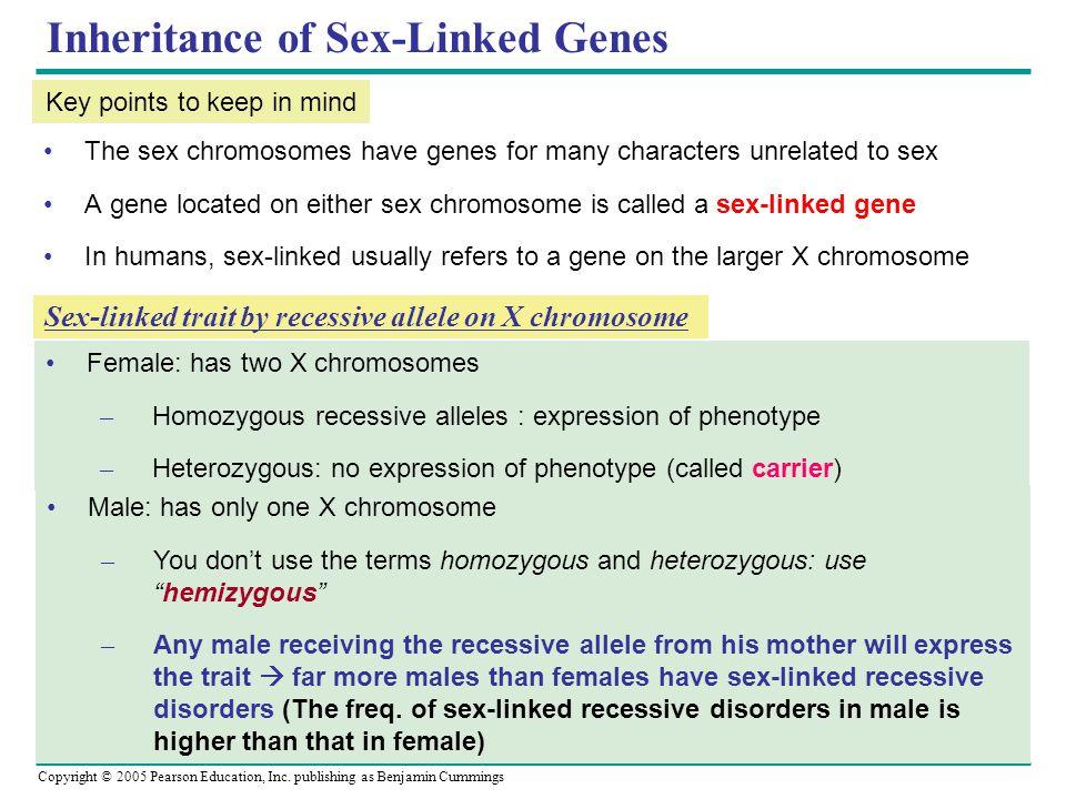 Inheritance of Sex-Linked Genes