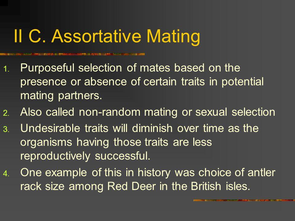 II C. Assortative Mating