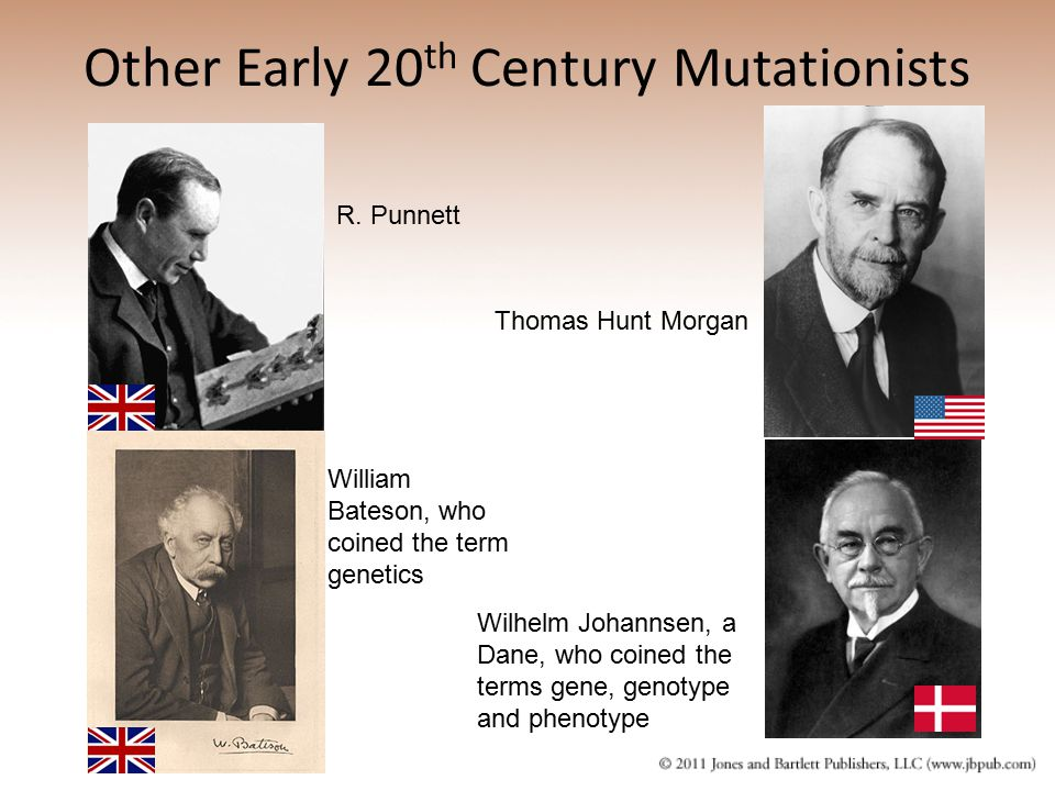 Other Early 20th Century Mutationists