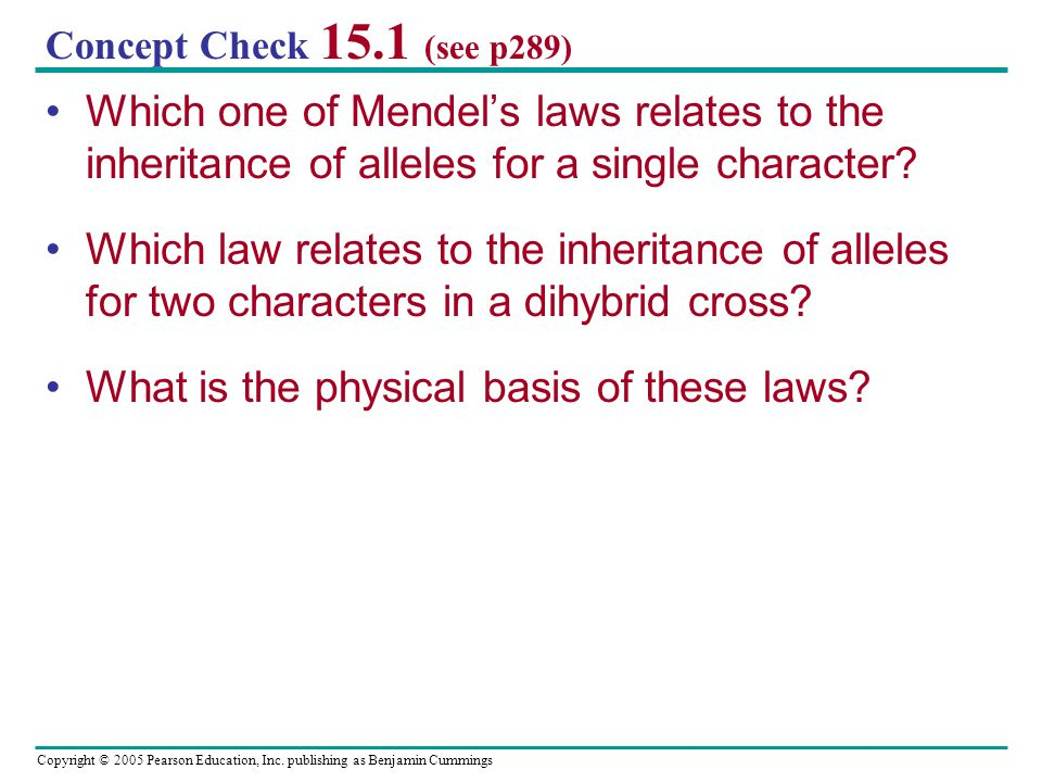What is the physical basis of these laws