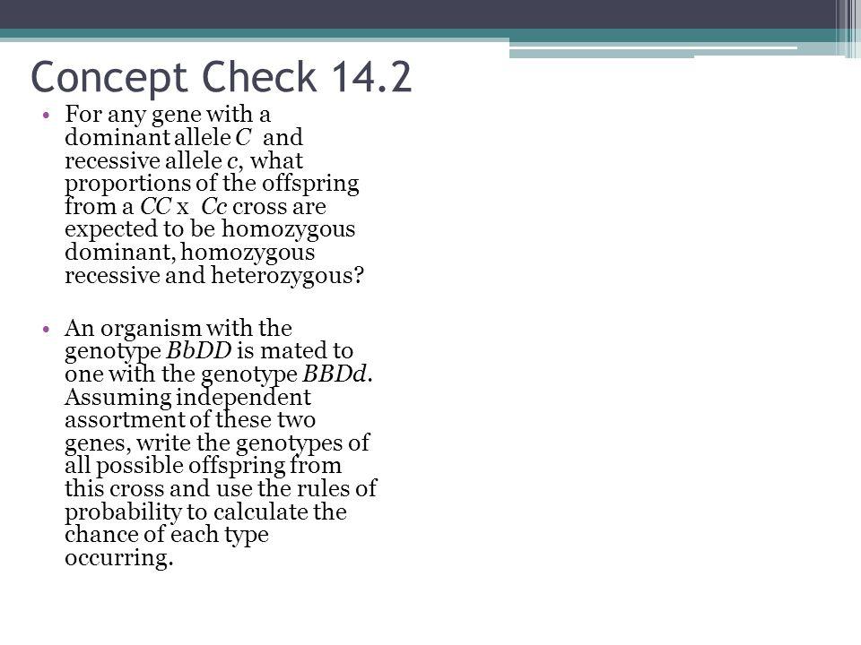 Concept Check 14.2
