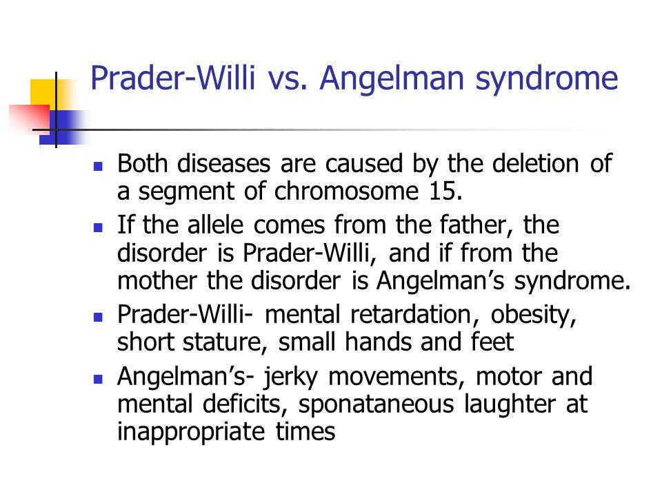Prader-Willi vs. Angelman syndrome
