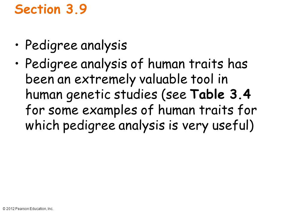 Section 3.9 Pedigree analysis