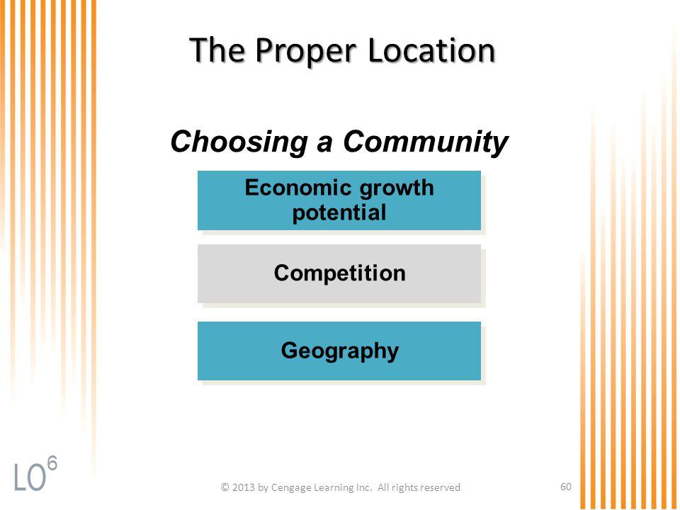 Economic growth potential