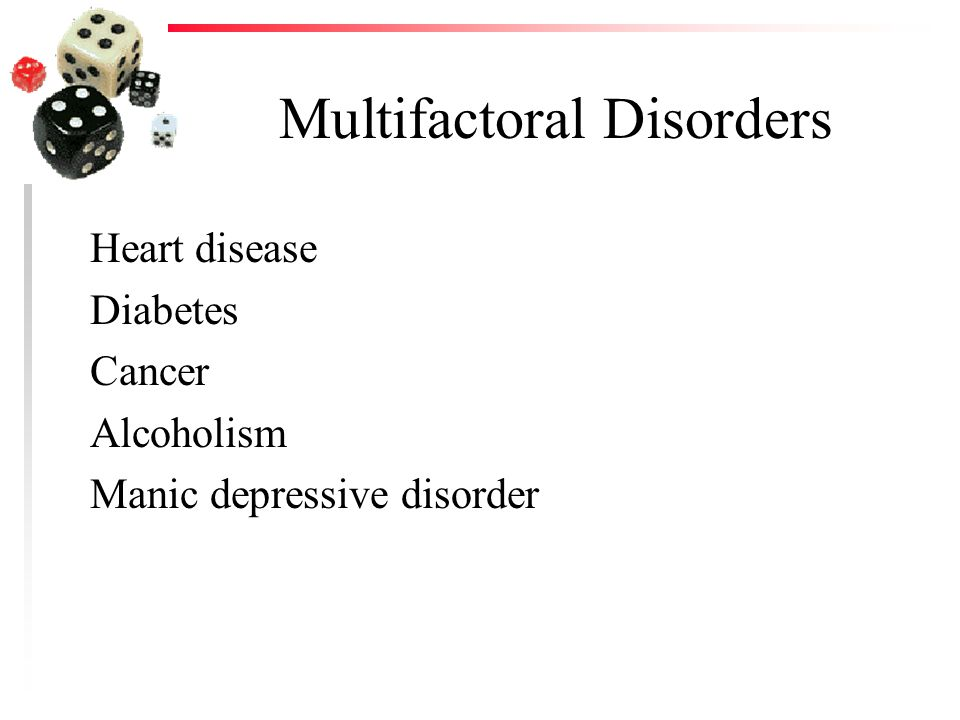 Multifactoral Disorders