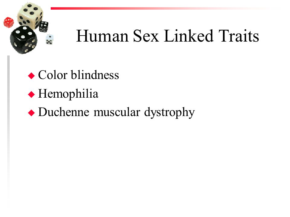 Human Sex Linked Traits