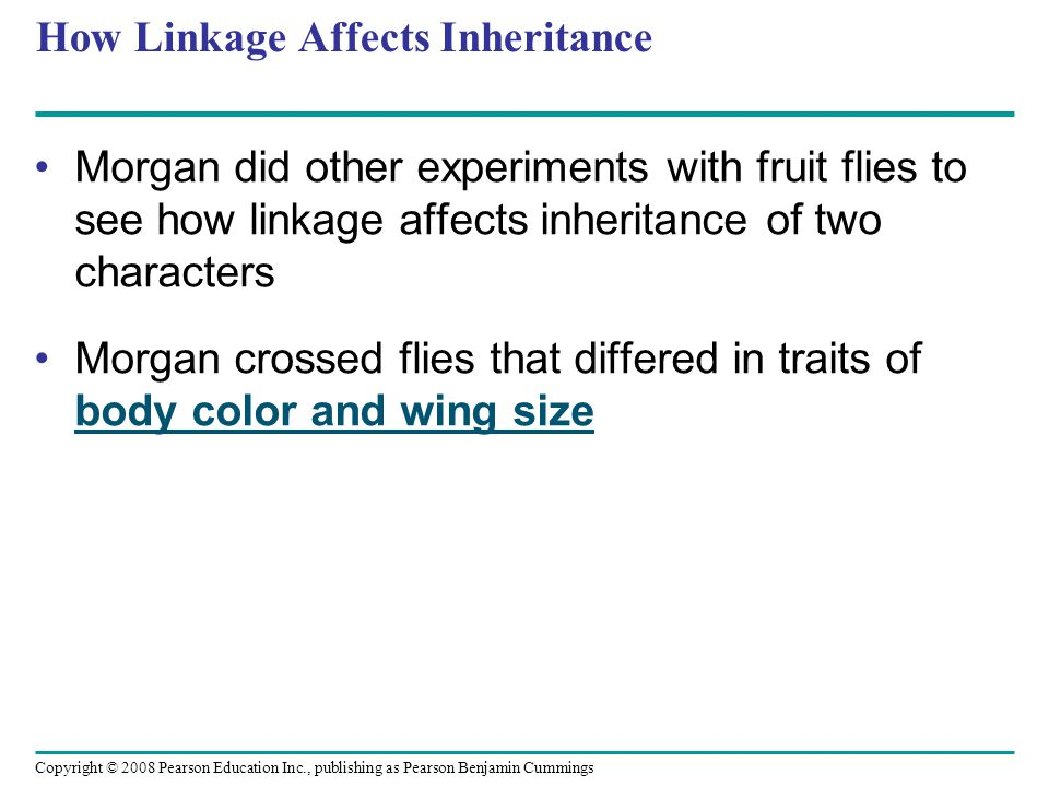 How Linkage Affects Inheritance