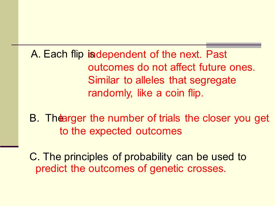 C. The principles of probability can be used to