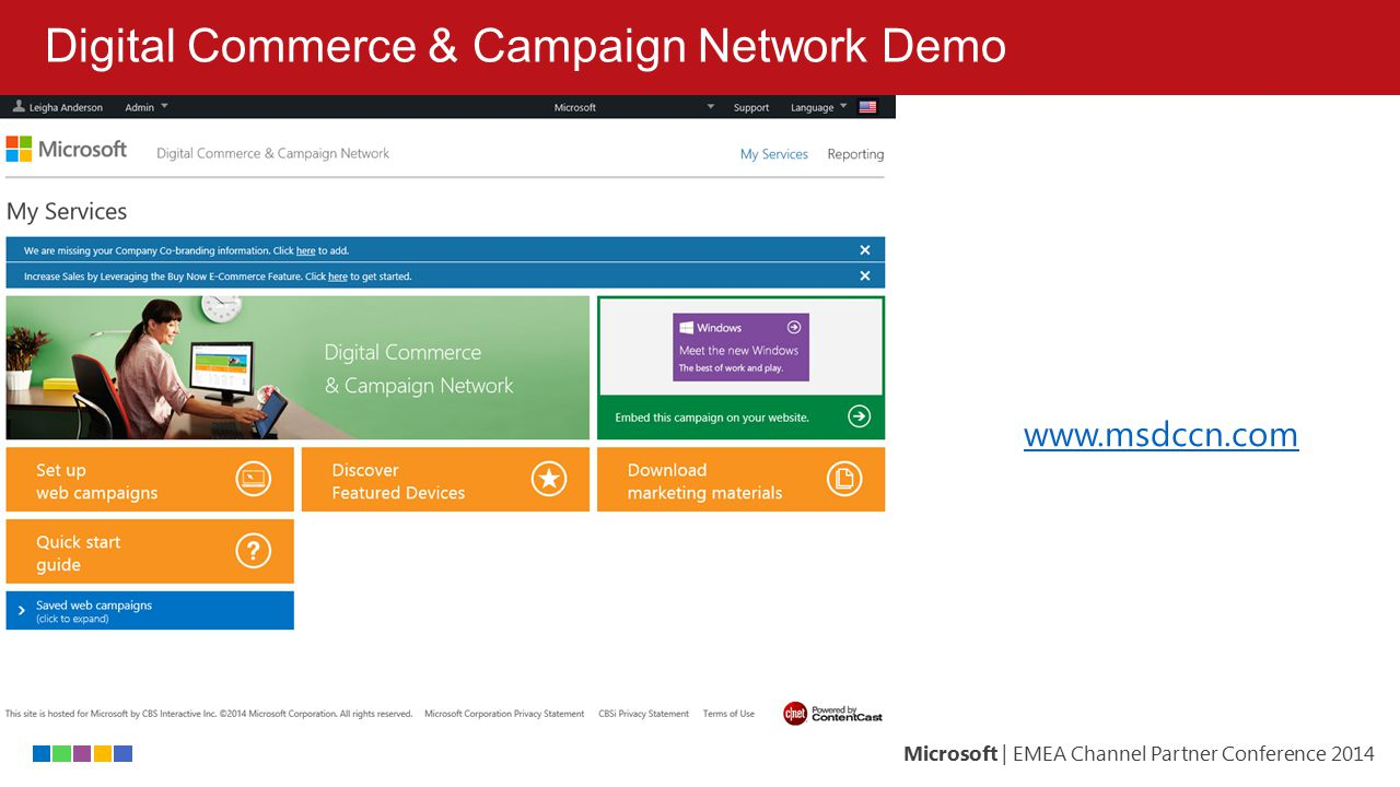Digital Commerce & Campaign Network Demo
