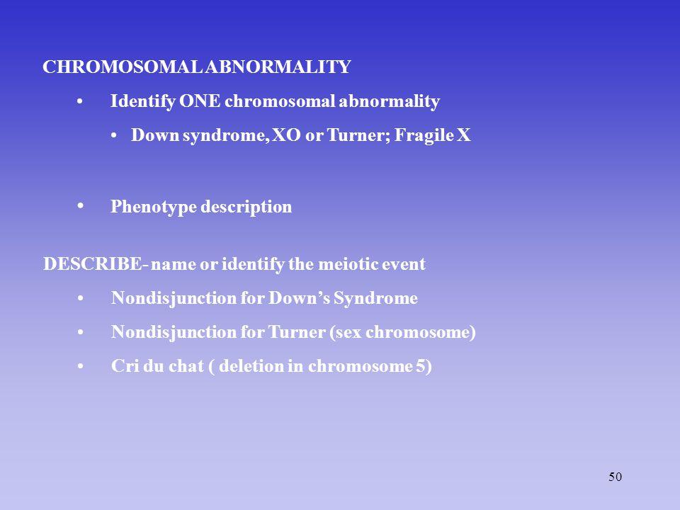 Phenotype description