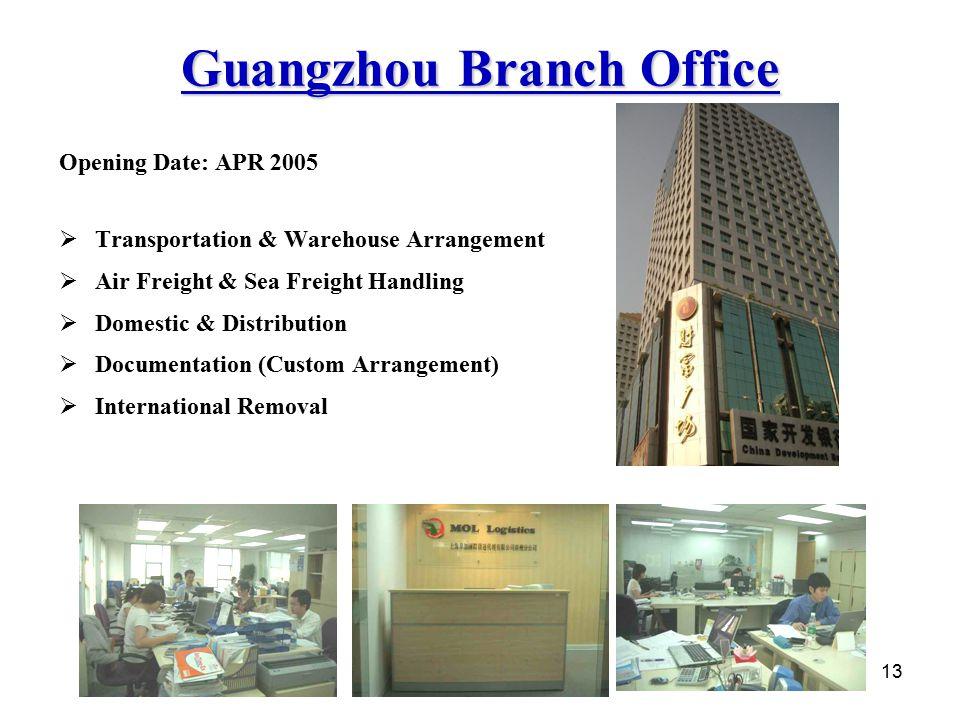 Guangzhou Branch Office