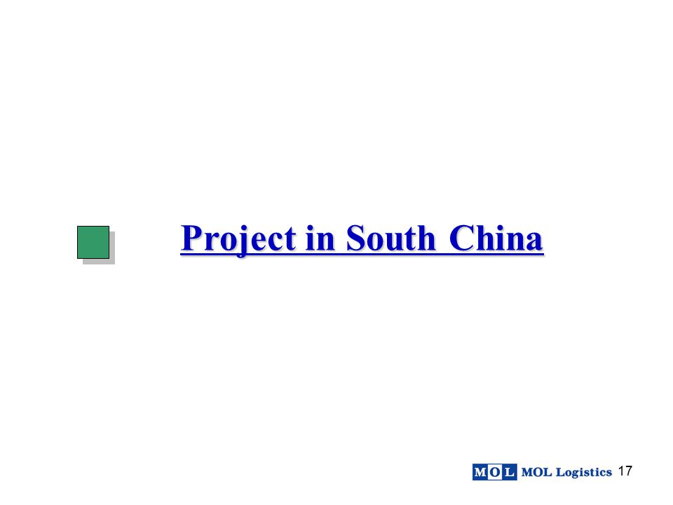 Project in South China