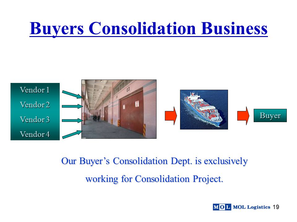 Buyers Consolidation Business