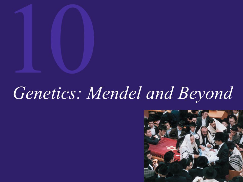 Genetics: Mendel and Beyond
