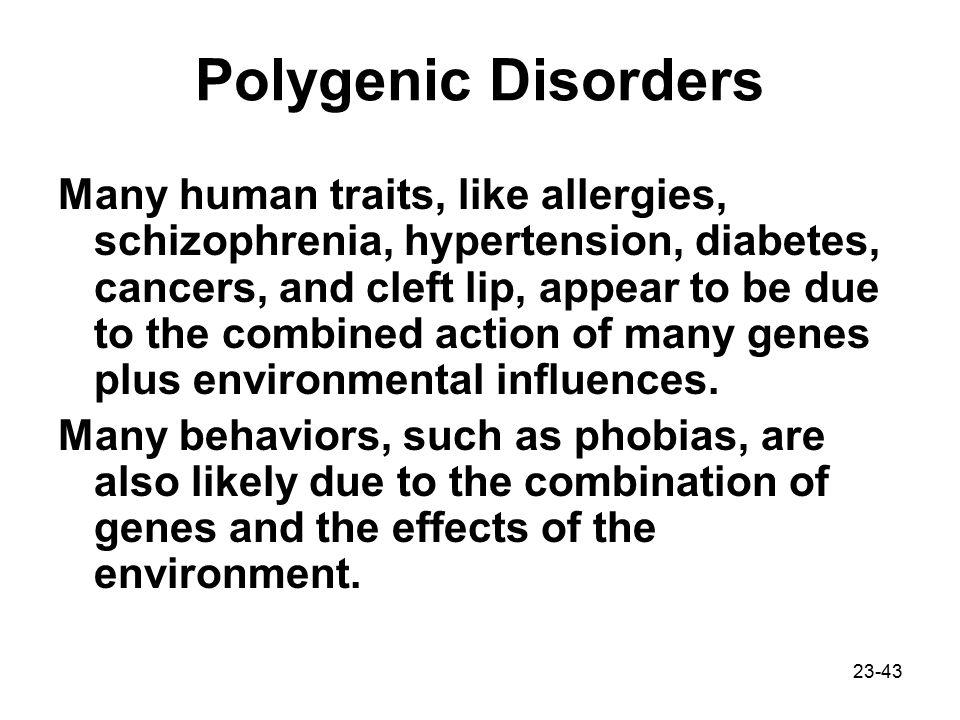 Polygenic Disorders