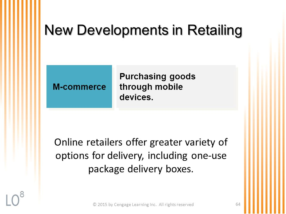 New Developments in Retailing